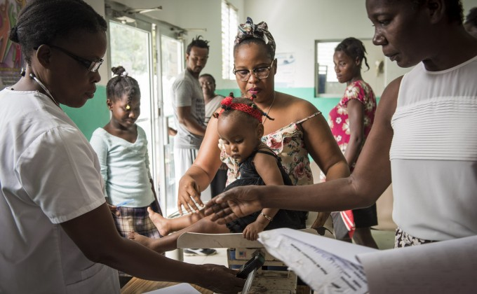 "Photo Exhibit: ""Together for the Health of Mothers and Children of Haiti"""