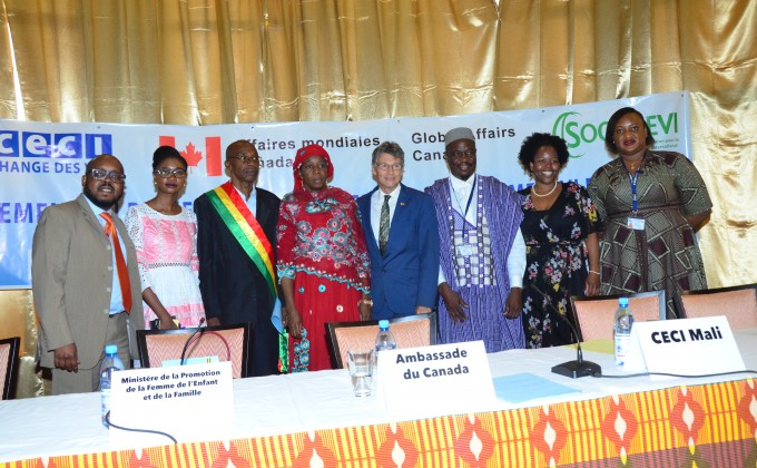 Women's Voice and Leadership Project Launch in Mali